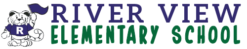 River View Elementary School logo centered